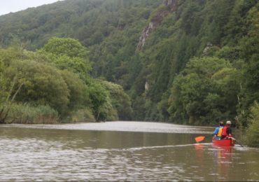 Canoeing the Tamar
