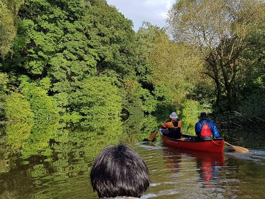 3 day Canoe expedition on the river Tamar