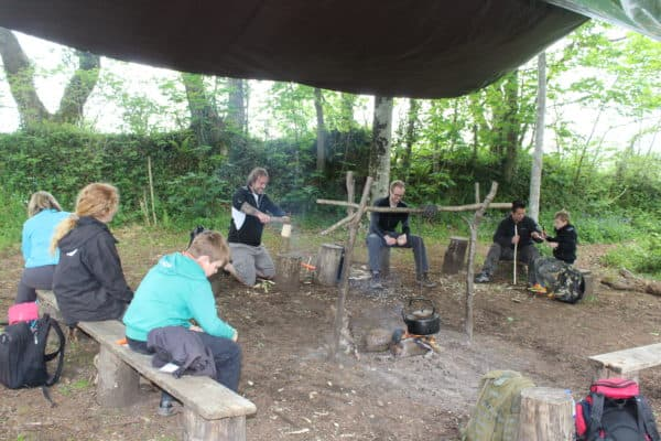 Survival and Bushcraft skills day 14/5/2016